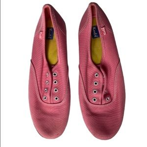 Keds Pink Canvas Classic Sneaker Size 9